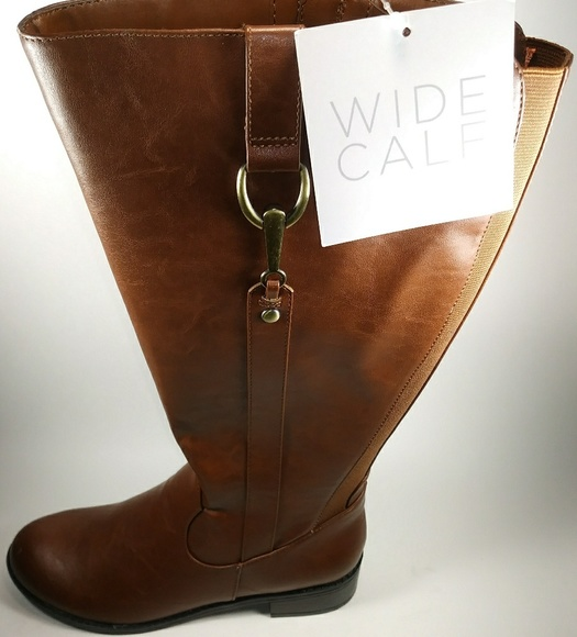ecd847a66d0c NWT-Lifestride Sikora Wide Calf Riding Boots